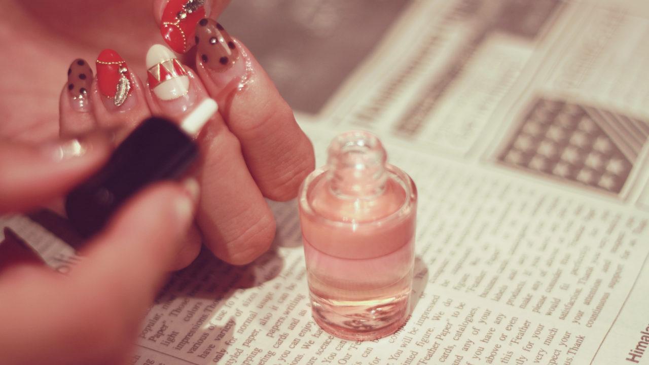 ネイル 美容液