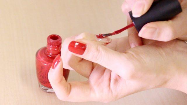 セルフネイル 3度塗り 3色 配色 塗りやすい色